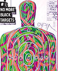 美国禁止枪械滥射海报设计:射击场不再有黑色目标