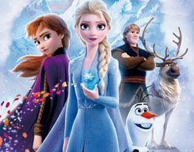 迪斯尼《冰雪奇缘2》海报设计欣赏