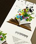 国外精美的折页画册设计