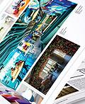 艺术品杂志版式设计