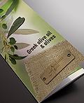 希腊Andania Gaia橄榄油公司三折页手册