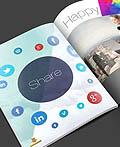八本自由简单的杂志设计
