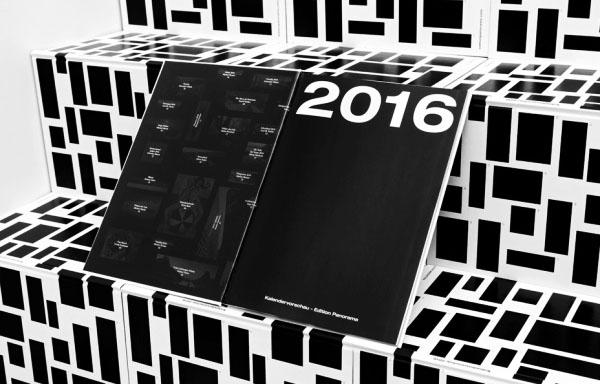 KALENDER 2016黑白视觉画册设计