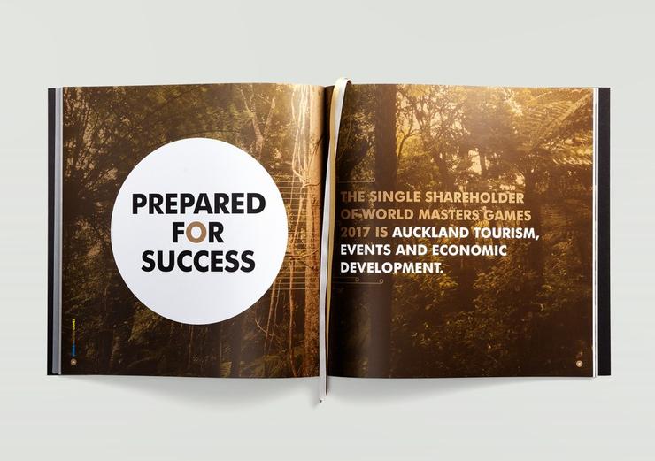 新西兰最佳平面设计之企业通讯类入选作品