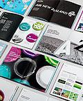 新西兰航空公司企业品牌画册设计