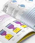 媒体经济报道Vol.12杂志版式设计