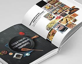 Merih Sejkic餐饮目录画册设计欣赏