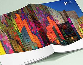 时尚大气的SABIN PLASTIC企业画册版式设计