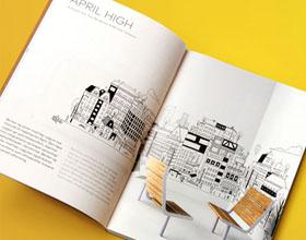 Vestre户外家具品牌画册设计欣赏