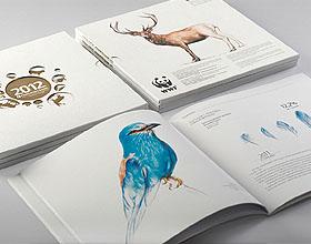 漂亮的PROMETEY银行年度报告画册设计欣赏
