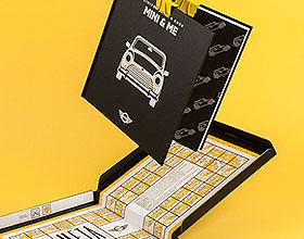 超酷的宝马MINI手册设计