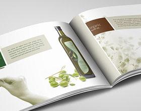 精美的Andania Gaia橄榄油画册设计