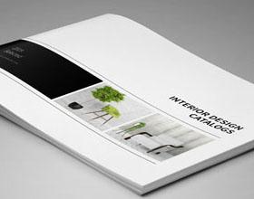 简洁大气的国外家具目录画册设计欣赏