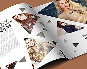 女性时尚品牌画册设计模板