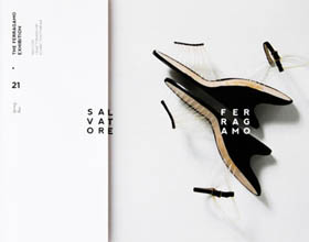 Salvatore Ferragamo奢侈品画册设计