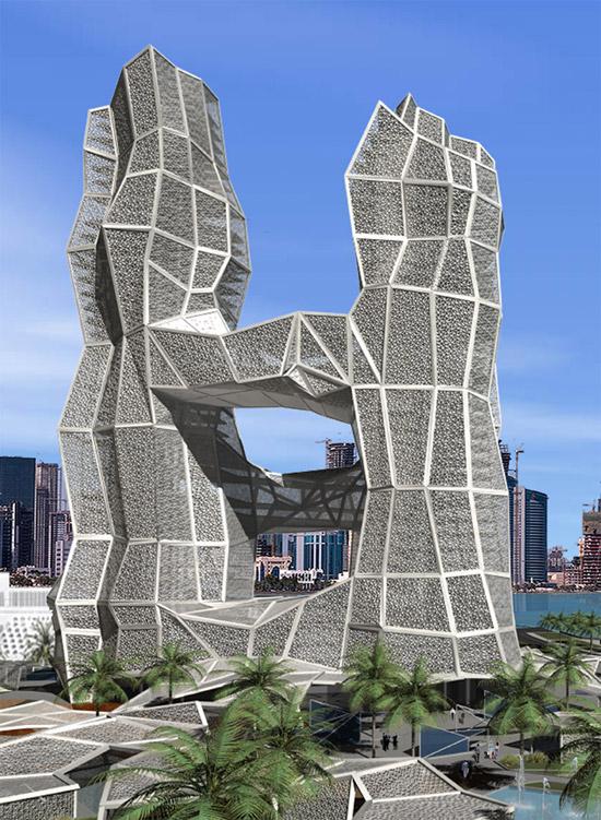 西班牙xvstudio:卡塔尔建筑群