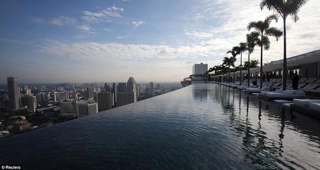建筑:新加坡Marina Bay Sands空中花园