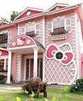 非常可爱的Hello Kitty主题别墅