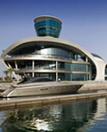 豪华游轮――亚斯岛海上游艇俱乐部建筑