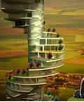 楼梯式摩天大楼―西班牙巴塞罗那纳比托建筑师事务所