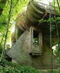 美国俄勒冈州波特兰市的林中木屋
