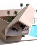奇异的三角形房屋