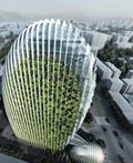造型奇特的台北鹅卵石造型建筑