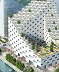 杭州波浪屋顶建筑设计