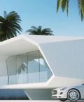 土耳其设计师Gunes Peksen设计波浪豪宅