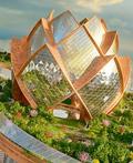梦幻的莲花状建筑设计欣赏