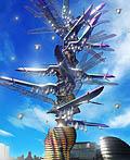 蝗虫的翅膀 奇妙的农场塔建筑设计