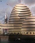阿拉伯联合酋长国的有机城市建筑设计
