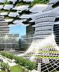 首尔城市Skyfarm垂直农场设计方案