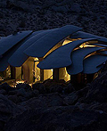 沙漠里的独特现代住宅设计