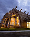 加拿大aanischaaukamikw克里文化研究所