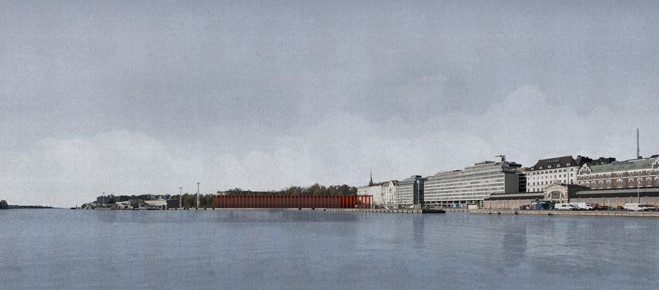 赫尔辛基古根海姆博物馆设计竞赛作品