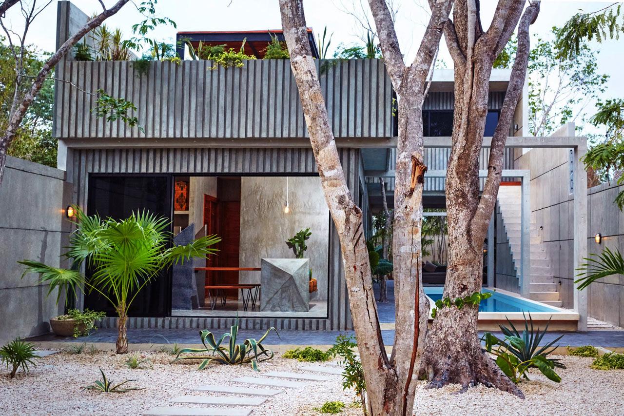 墨西哥热带度假别墅