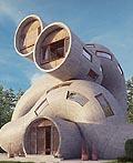 漂亮的概念管形房子