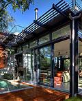 自然与建筑协调的乡村生态家庭建筑设计