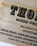 有意思,木头也能做名片