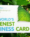 30个绿色名片设计欣赏