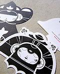 20张创意黑与白商务名片设计