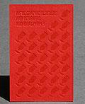 27张漂亮的红色商务名片