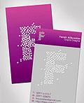 30张紫色调创意名片设计实例