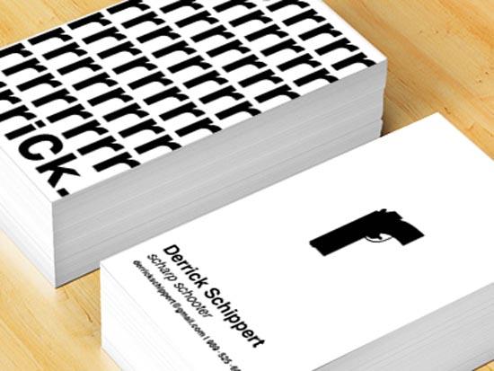33款广告文案人员商务名片设计