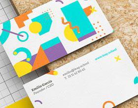 优秀创意商务名片设计灵感 #25