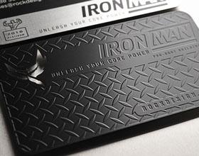 RockDesign的黑色名片设计欣赏