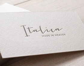 三款压花凸版印刷名片设计欣赏