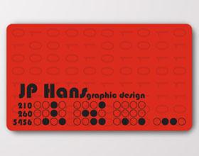 20张鼓舞人心的创意红色名片设计