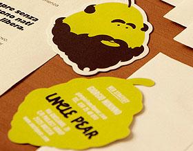 45张最具创意的插图风格名片设计欣赏